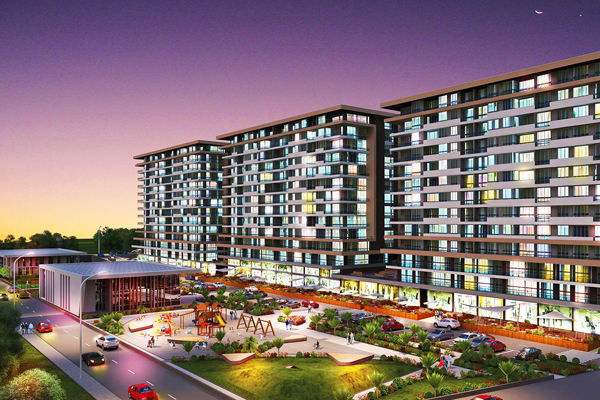 Residential projects in Turkey - right-way